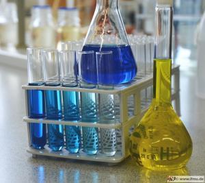 Laboranalyse von Trinkwasser