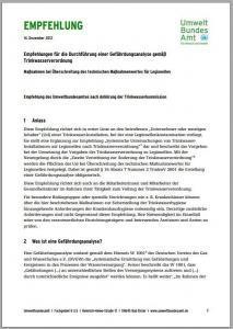 UBA-Empfehlung zur Durchführung einer Gefährdungsanalyse